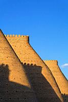 The walls of the Ark, Bukhara, Uzbekistan