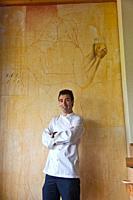 Azurmendi Restaurant Eneko Atxa Chef Larrabetzu Larrabezua. Gran Bilbao Region. Biscay, Basque Country, Spain