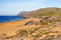 Playa Negrete, Parque Regional de Calblanque, Cartagena, Spain
