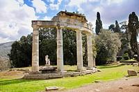 Venus Temple Villa Adriana Tivoli Italy