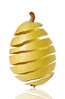 Pear peel