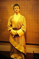 Statue: Marquise DAI-XIN ZHUI  Height 158cm. The statue is copied on the female corpse of Xin Zhui and the related materials.  Place: Changsha, Hunan,...