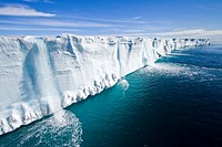 Views of Austfonna, an ice cap located on Nordaustlandet in the Svalbard archipelago in Norway  MORE INFO Austfonna is the largest ice cap by area and...