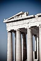 Parthenon on the Acropolis  Athens  Greece