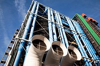 Georges Pompidou Centre in Paris, France