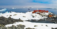 Bernardo O´Higgins Station, a Chilean base on Antarctica. Bernardo O´Higgins was a Chilean leader that helped Chile gain independence from Spain. He w...