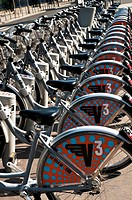 Bicycles for rent, Bordeaux, France