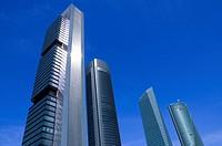 Cuatro Torres Business Area, Comunidad de Madrid, Spain, Europe