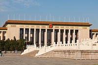 Great Hall of the People, Tiananmen Square, Beijing, China