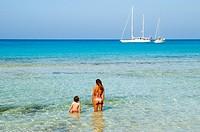 Beach, San Vito Lo Capo, Sicily, Italy