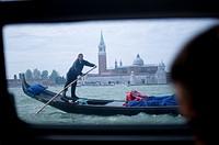 Italy, Venice, gondole.