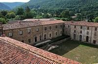 Benedictine Abbey of Notre Dame de la Sagne founded in the 8th century, Sorèze, Tarn, France