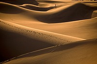 Sand dunes at Stovepipe Wells in Death Valley National Park, California, USA