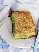 Greek Cuisine  Fresh Boureki