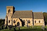 St Barnabas Church, Snowshill, Cotswolds, England, UK