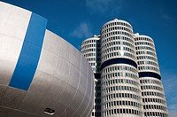 BMW Headquarters in Munich,Germany