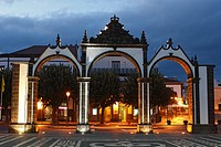 City Gates / Ponta Delgada / Sao Miguel Island / Azores / Portugal