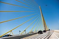 Skyway Bridge, St  Petersburg, Florida, USA