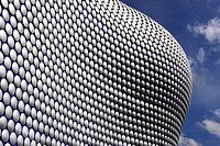 The Selfridge Building, designed by Future Systems, Bullring, Birmingham, West Midlands, England