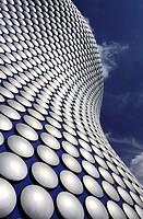 Selfridge´s Building, designed by Future Systems, Bullring, Birmingham, West Midlands, England