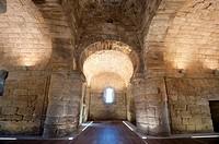 Visigothic chapel of Santa Maria of Melque, San Martin of Montalban, Toledo, Castile La Mancha, Spain
