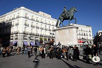 Monument to Carlos III, Puerta del Sol Madrid, Spain