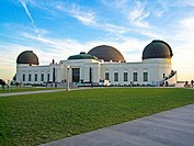 Griffith Observatory. Griffith Park, Los Angeles, California