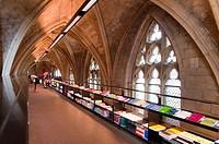 ´Selexyz Dominicanen´ Bookstore inside the ´Dominicanenkerk´ Church, Maastricht, Limburg, The Netherlands, Europe