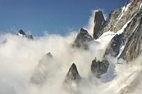 Macizo del Mont Blanc, Alpes Francia/Italia
