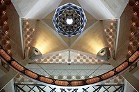 Qatar, Doha, Museum of Islamic Art, interior, I M  Pei, architect,