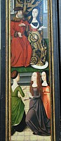 Detail: The Life and Miracles of Saint Godelieve, last quarter of 15th century, by Master of the Saint Godelieve Legend Netherlandish, active fourth q...