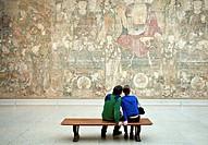 Art appreciation at the Metropolitan Museum of Art, New York, NYC, USA