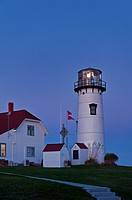 Chatham Light and Coast Guard station, Chatham, Cape Cod, MA
