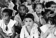 Children in daycare center, Santiago de Cuba, Cuba