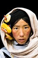 Faces of Tibet.