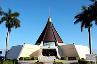 Iglesia de la Ermita de la Caridad in Miami, Florida, patron saint of the Cuban exile