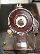 Antique domestic sewing machine