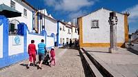 Street of Obidos,estremadura,portugal