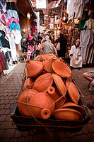 Tajine, Medina Souk, Marrakech, Morocco