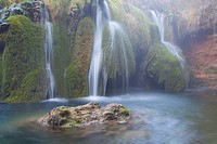 Cascade in Sierra Mariola natural park