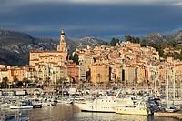 Menton, Alpes-Maritimes, Provence-Alpes-Côte d´Azur, France