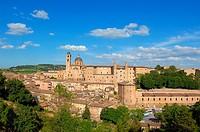 Urbino, Marche, Italy, Europe, UNESCO World Heritage site.
