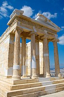 Restored temple of the Athena NikeApteros Nike or Athena Victory  An extensive, internationally acclaimed antiquity conservation and restoration progr...