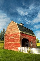 A barn in Tekoa, Washington, USA