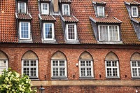 Old townhouse in Gdansk, Poland