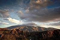 View of the Sierra Nevada mountain´s, Alpujarra´s, Province of Granada, Spain