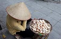 Egg Seller, Hanoi, Vietnam