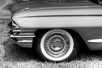 Antique Car from the 1960´s in Black & White