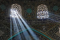 Interior of the Masjid-i Sheikh Lotfallah, Isfahan, Iran