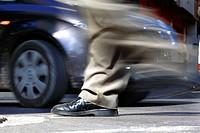 Pedestrians at risk